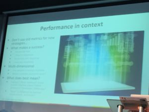 Performance in context