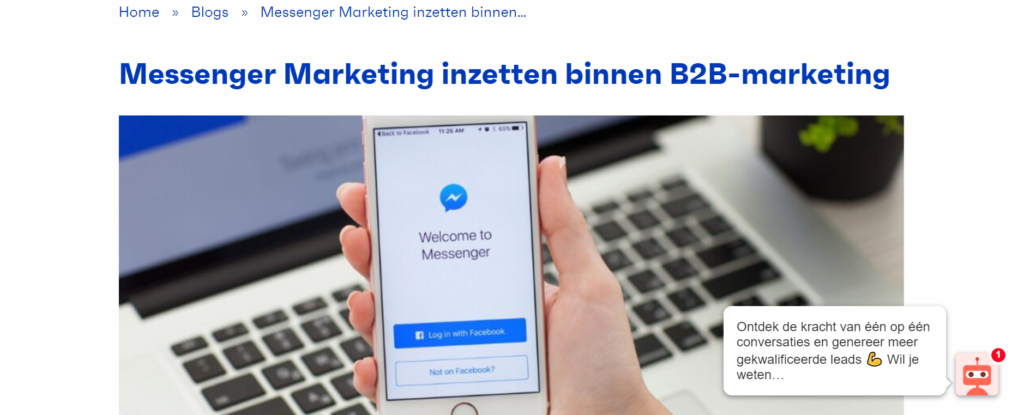 Conversational marketing in conversie optimalisatie