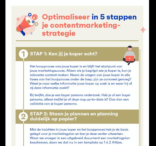 Contentmarketing optimalisatie